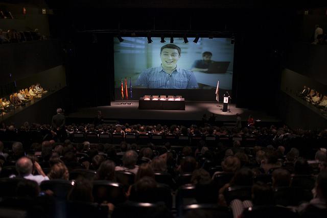 Acte de graduació de titulats de l'ETSINF 2017 #GradEtsinf2017
