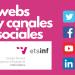 (Español) Webs y canales sociales de la ETSINF