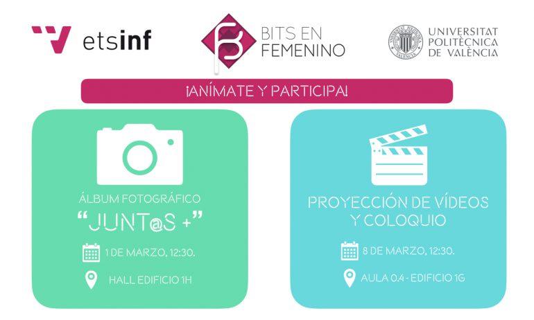#BitsenFemenino en marzo en #ETSINF