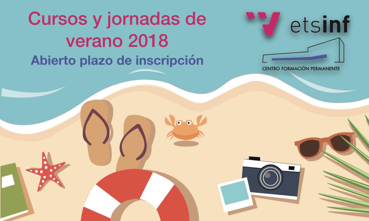 Cursos y Jornadas de Verano ETSINF 2018