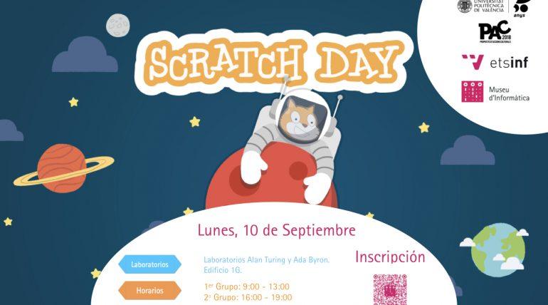 El Museu d'Informàtica de L'ETSINF organitza la cinquena edició del Scratch Day per a tota la UPV