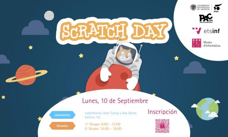 El Museu d'Informàtica de L'ETSINF organiza la quinta edición del Scratch Day