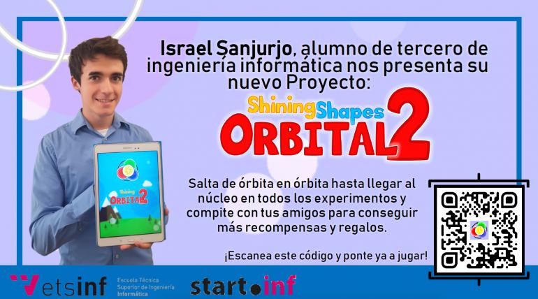 (Español) Un alumno de ETSINF presenta su nuevo proyecto Orbital2 generado en StartInf
