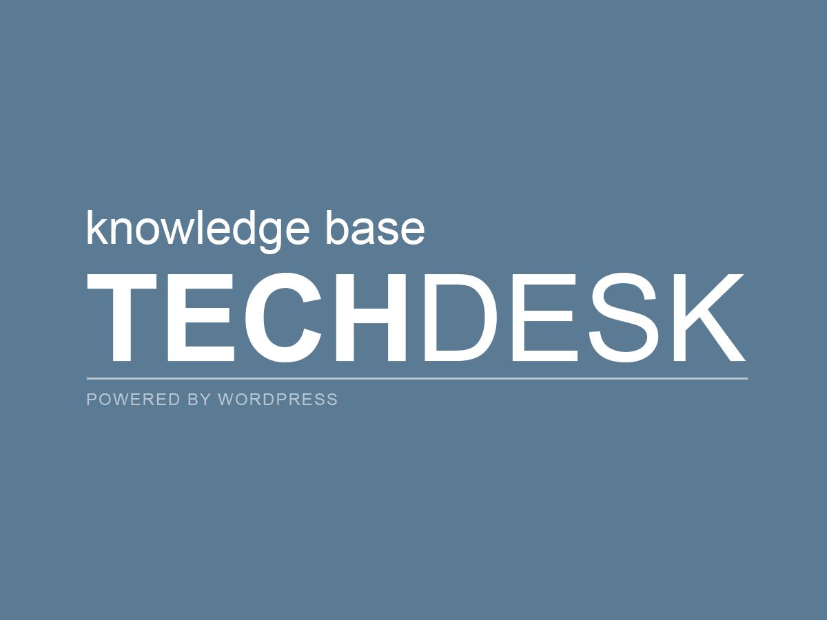 wp techdesk