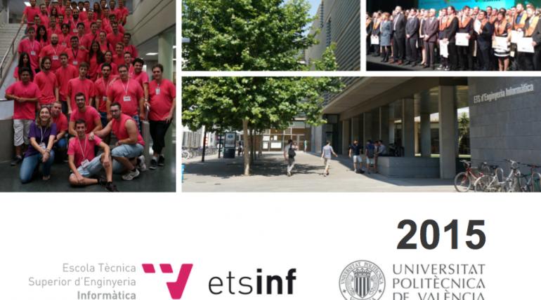 La ETSINF en datos: Memoria 2015