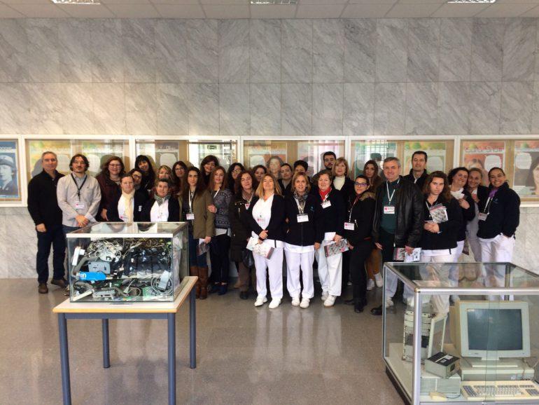 Visita a MUSEO.INF del personal de administración, servicios y limpieza de ETSINF