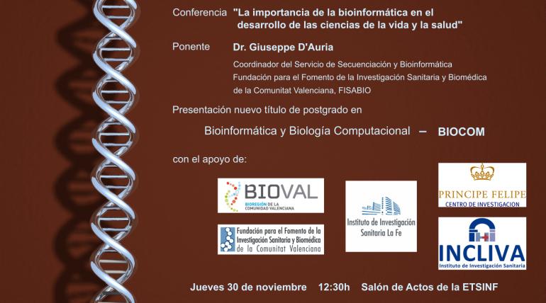 (Español) Presentación de BIOCOM el nuevo título en Bioinformática y Biología Computacional