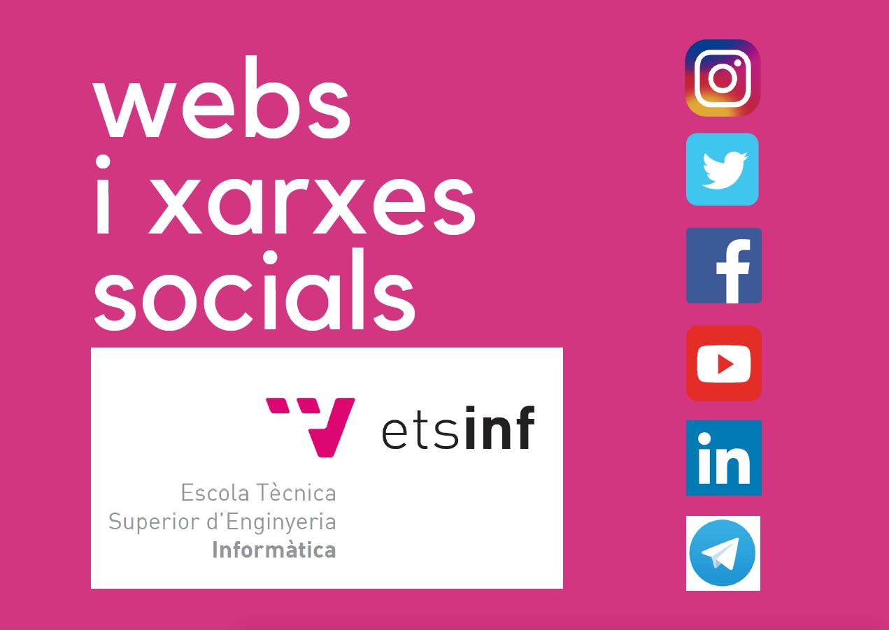 Webs i xarxes socials ETSINF