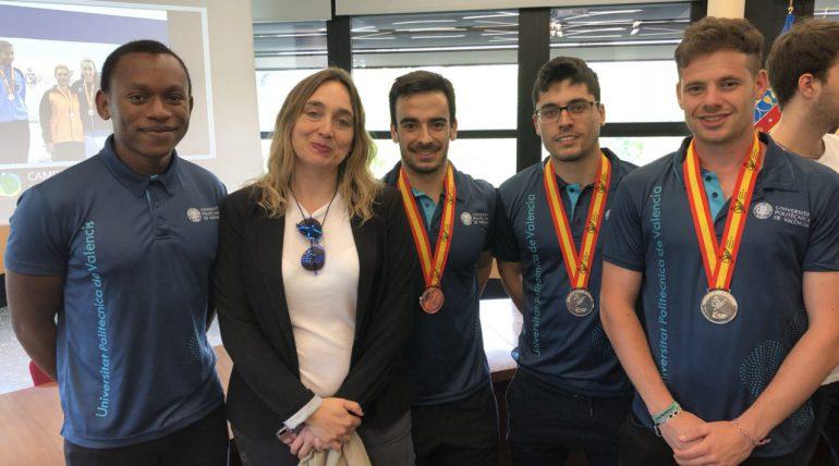 (Español) Alumnado de ETSINF galardonado en los CEU 2018