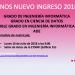 Atención: Charla sobre MATRÍCULA a alumnado NUEVO INGRESO – Lunes 16 a las 9h