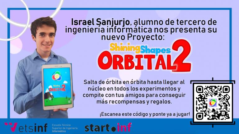 Un alumno de ETSINF presenta su nuevo proyecto Orbital2 generado en StartInf