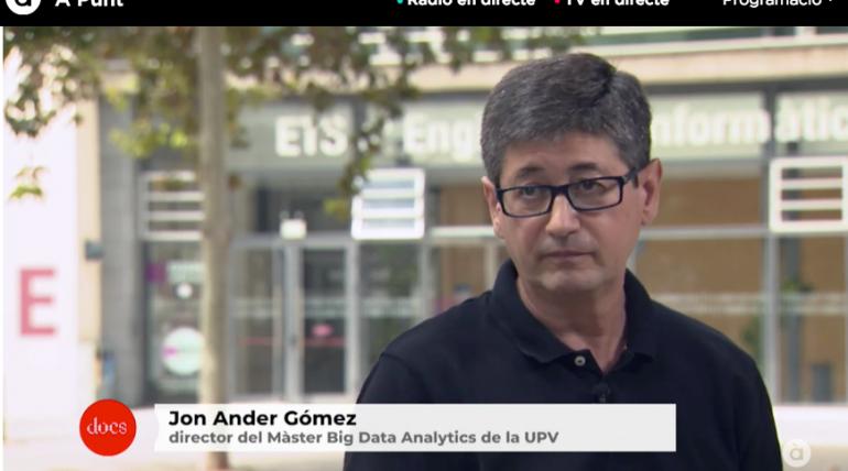 Video> Punt Docs: Nuesa digital | amb el professor Jon Ander Gómez