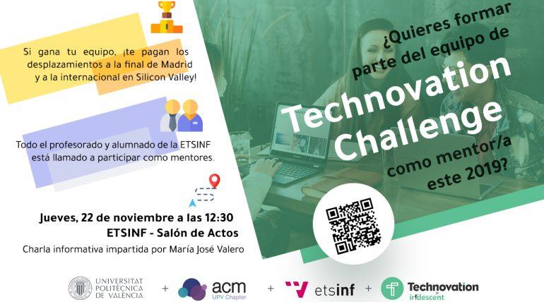 Charla: Mentoriza en el proyecto Tech Challenge 2019