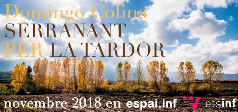 "Espai.inf acoge ""Serranant per la tardor"" hasta el 30 de noviembre"