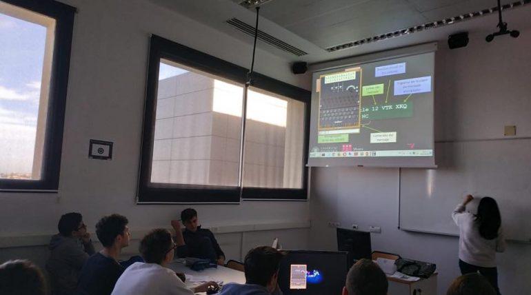 (Español) Hora del código 2018 con el Museo de Informática en ETSINF