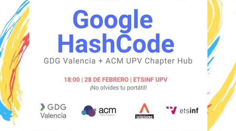 ETSINF acull un Hub de Google Hash Code 2019 organitzat per GDG, Devscola i ACM UPV
