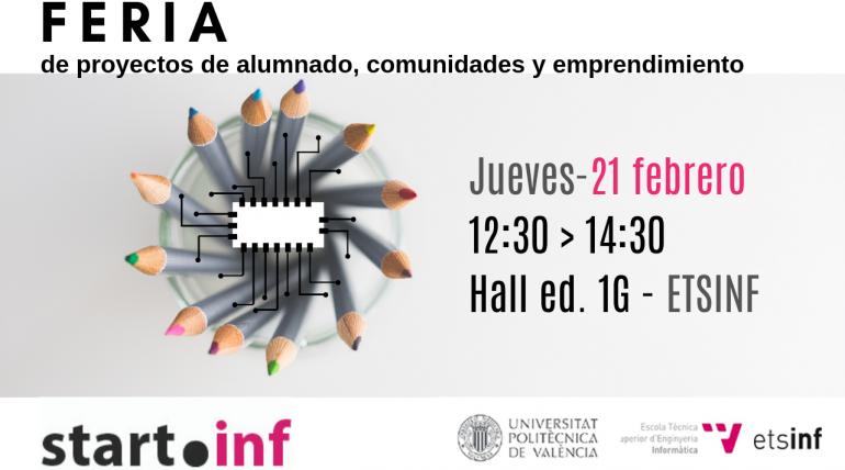 (Español) Convocatoria: Feria de proyectos de alumnado, comunidades y emprendimiento