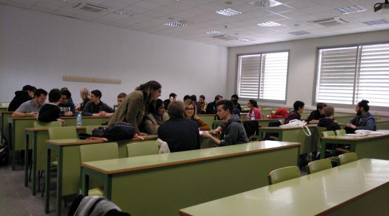 Welcome session January 2019 | Bienvenida a alumnado de intercambio en ETSINF