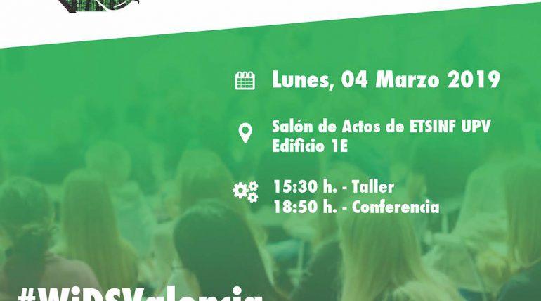 Primera edició de #WIDSValencia el 4 de març en ETSINF
