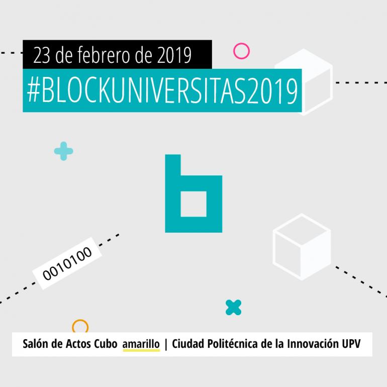 Blockuniversitas 2019: Jornada sobre la primera Red de Blockchain de Universidades Valencianas