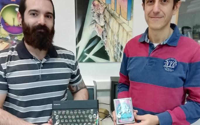 El ZX Spectrum que va programar Phantomas s'afegeix a la col·lecció del Museu d'Informàtica