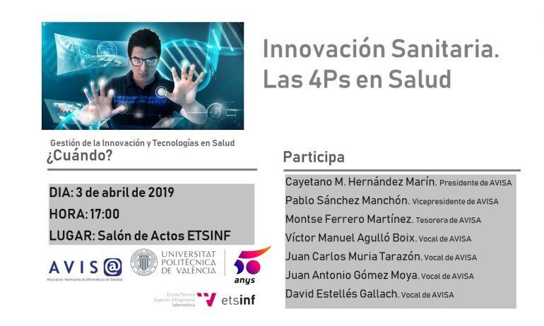 Jornada d'innovació sanitària: les 4Ps en salut