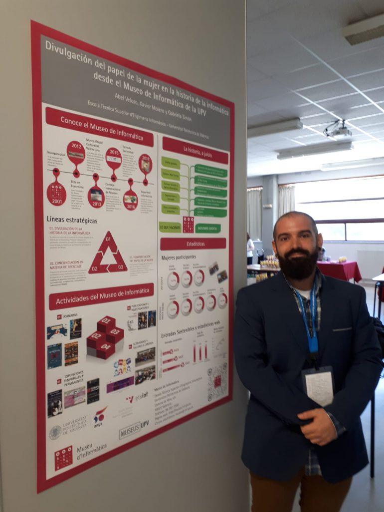 (Español) Museode Informática de la UPV participa con un póster en la IV IPT