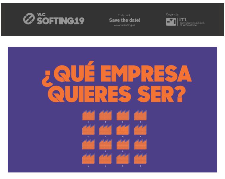 V Edición de #VLCSOFTING19- ¿Qué empresa quieres ser?