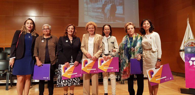 Homenaje a las pioneras de ETSINF UPV