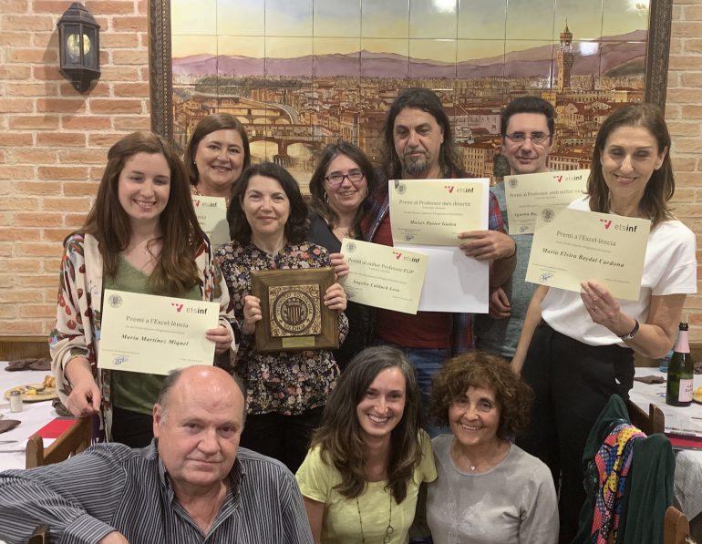 Premis a l'excel·lència docent i Premis DAETSINF en la celebració de Santa Tecla