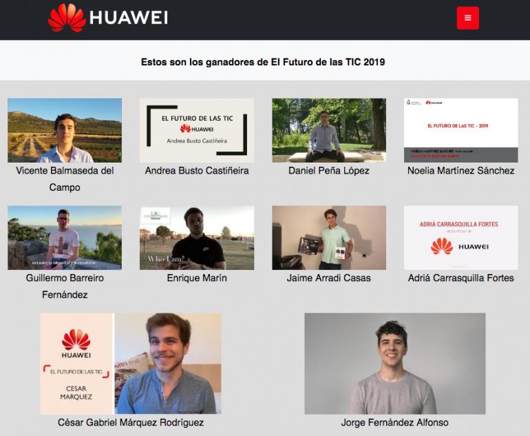 (Español) Huawei selecciona a un alumno de ETSINF para viajar a China y formarse en innovación y TIC