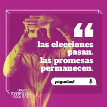 (Español) Analísta político personal con OK Google creado en UPV por Open Manifesto Project