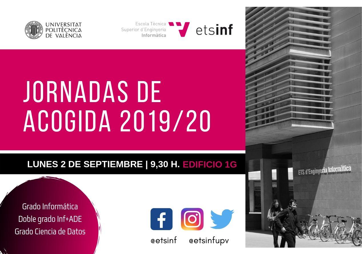 Jornadas Acogida 2019/20