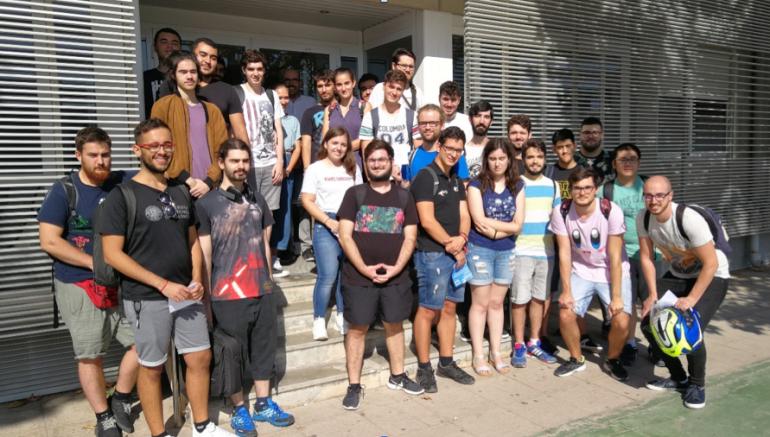 Visita de grupo de 4º de grado de Ingeniería informática a StartUPV