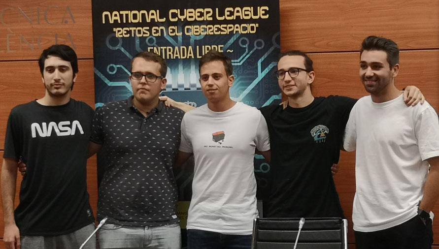 National Cyber League, equipo ganador ETSINF UPV