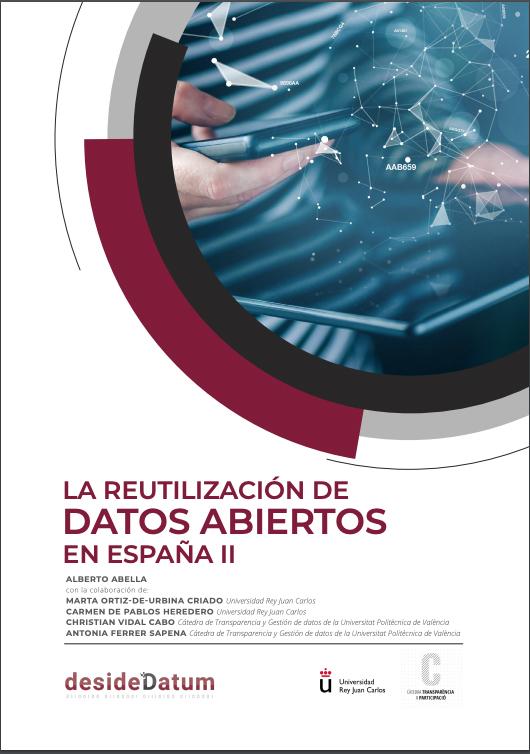 """(Español) La Cátedra de Transparencia colabora en la elaboración del informe """"Reutilización de datos abiertos en España II"""""""