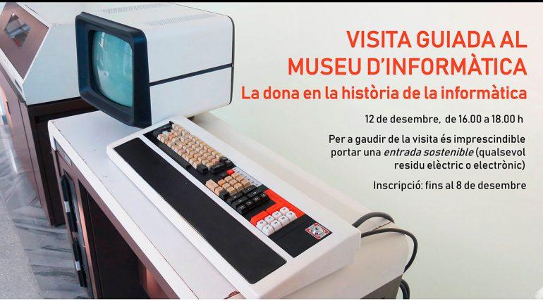 Visita guiada al Museo de Informática, el 12 de diciembre