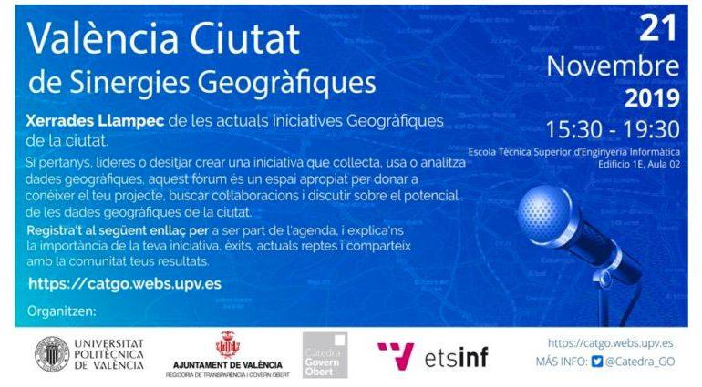 Taller participativo sobre uso de datos espaciales en Valencia organizado por la Càtedra Govern Obert