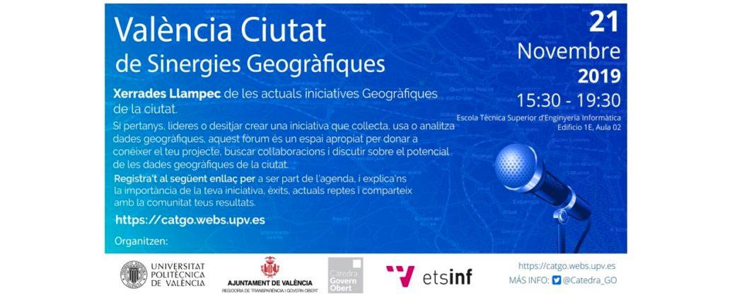 València datos geográficos Govern Obert