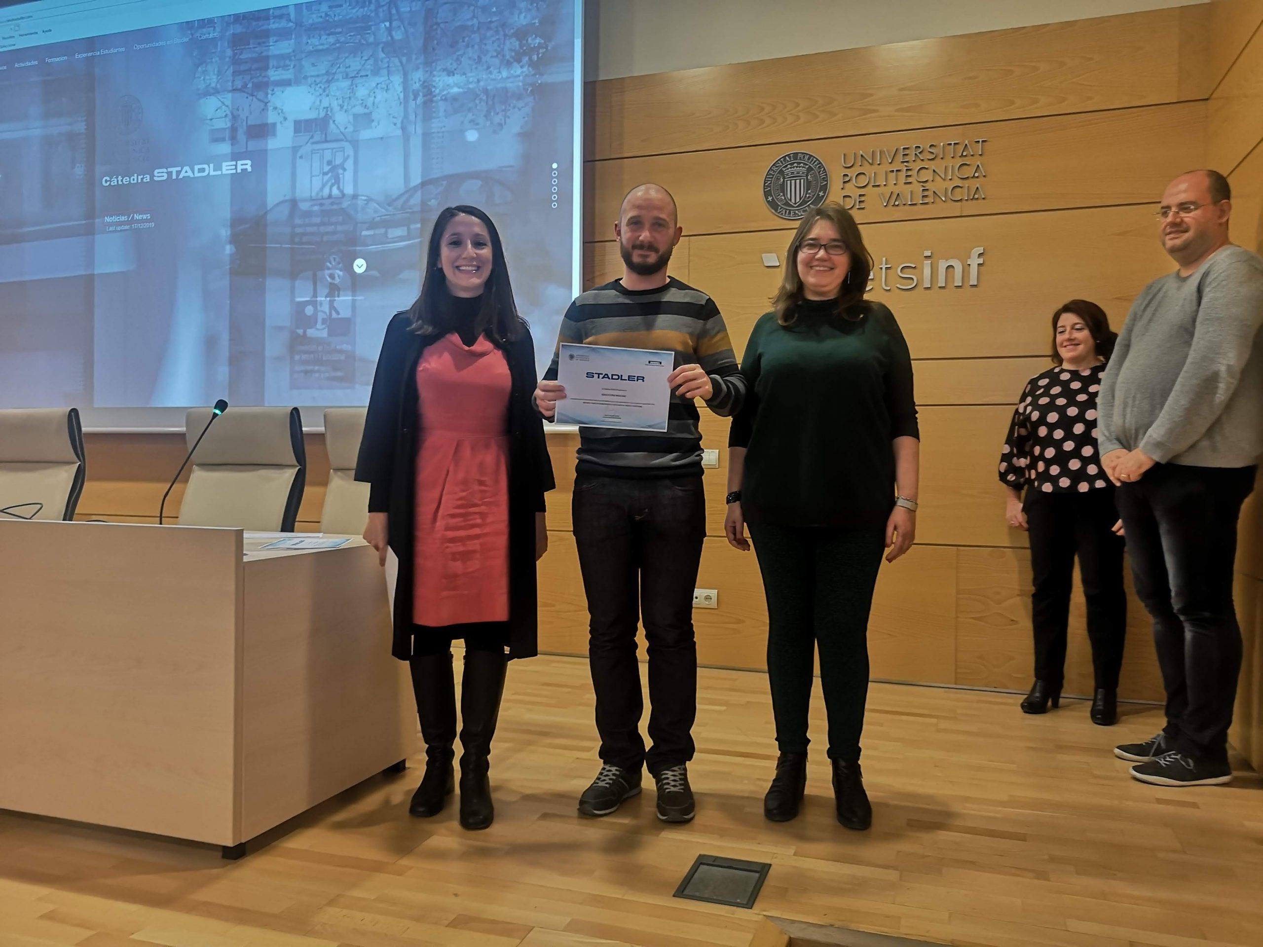Premio Cátedra Stadler Ignacio Díaz Arellano