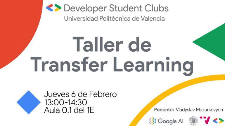 Taller «Transfer Learning» de Google Developer Student Club