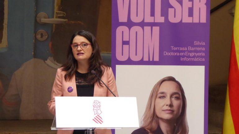 El consell elige a la directora de ETSINF como una de las mujeres referentes en la campaña #vullsercom