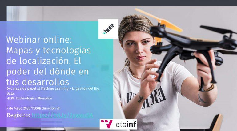 """(Español) Webinar: """"Mapas y tecnologías de localización. El poder del dónde en tus desarrollos"""""""