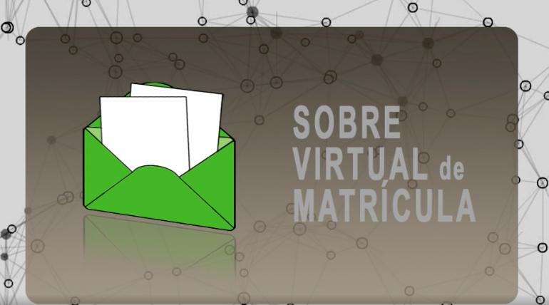 (Español) Ya puedes acceder al sobre virtual de matrícula