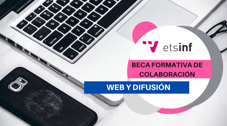 (Español) Beca formativa actividades de difusión y web de ETSINF