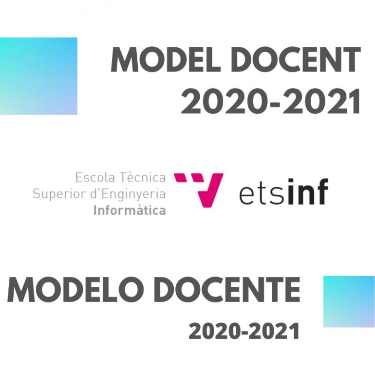 Modelo Docente ETSINF curso 2020-2021