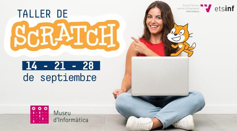(Español) El Museo de Informática da la bienvenida a los nuevos alumnos de informática con el taller de Scracht