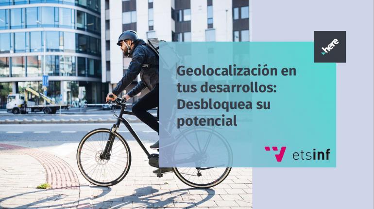 """(Español) Accede a la grabación del webinar """"Geolocalización en tus desarrollos"""" de HERE Technologies"""