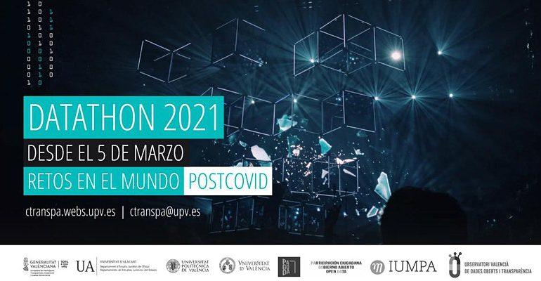 Datathon 2021: El papel de los datos abiertos ante los retos en un mundo Post-Covid