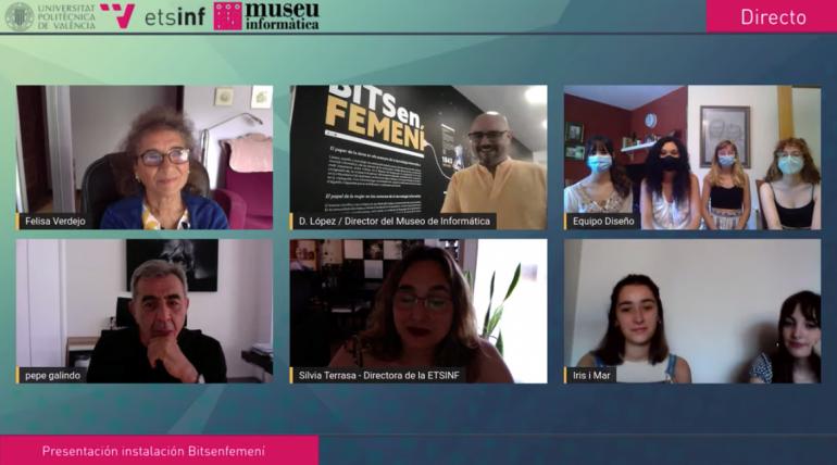 (Español) Presentación de la instalación Bits en Femení con Felisa Verdejo